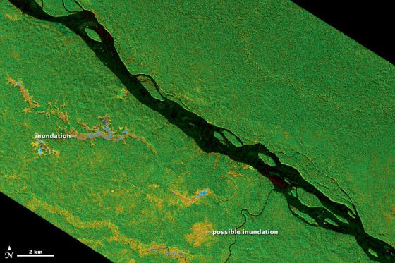 Wetland Protection: Let Satellite Take You to Explore Lost
